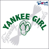 YANKEE GIRL OVER SANDALS NEW YORK 6 INCH  DECAL