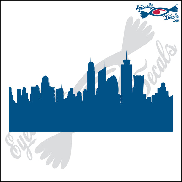 NEW YORK SKYLINE DETAILED 6 INCH  DECAL