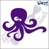 "OCTOPUS   6""  DECAL"