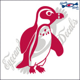 "PENGUIN  6""  DECAL"