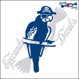 "PARROT PIRATE BIRD   6""  DECAL"