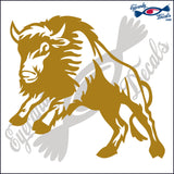 "BUFFALO RODEO  6""  DECAL"