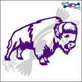 "BUFFALO 2 RODEO  6""  DECAL"