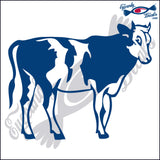 "COW FARM RODEO  6""  DECAL"