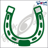 "HORSESHOE  RODEO  5""  DECAL"