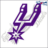 BOOT SPUR 6 INCH  DECAL