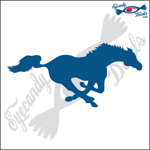 "HORSE RUNNING FACING RIGHT 6"" DECAL"