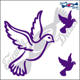 "DOVE 5""  DECAL plus 2 small"