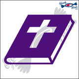 "BIBLE CLOSED 6""  DECAL"