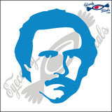 RON BURGUNDY HEAD SHOT 6 INCH  DECAL