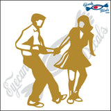 "SHAG DANCING 6"" DECAL"