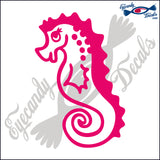 "SEAHORSE   6""  DECAL"