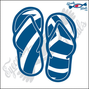 VOLLEYBALL SANDALS 6 INCH  DECAL