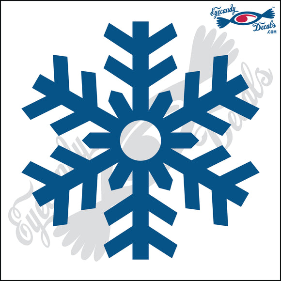 SNOWFLAKE 6 INCH  DECAL