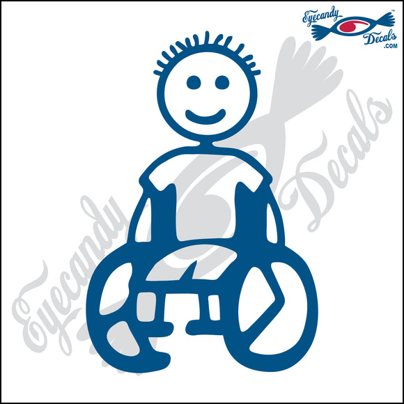 STICK FAMILY BOY IN WHEELCHAIR   4