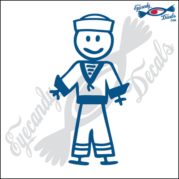 STICK FAMILY BOY IN SAILOR UNIFORM   4