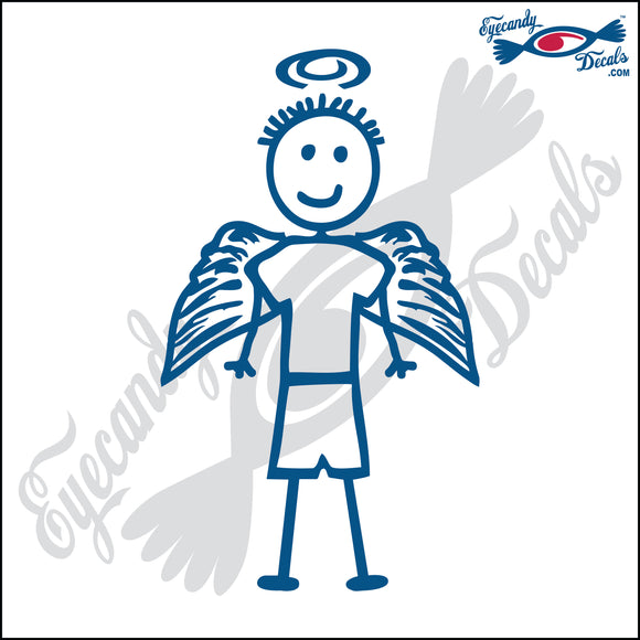 STICK FAMILY BOY ANGEL   4