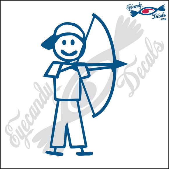 STICK FAMILY BOY ARCHER   4