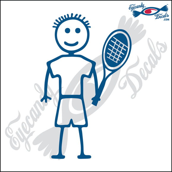STICK FAMILY BOY TENNIS PLAYER   4