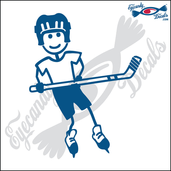 STICK FAMILY BOY PLAYING HOCKEY   4