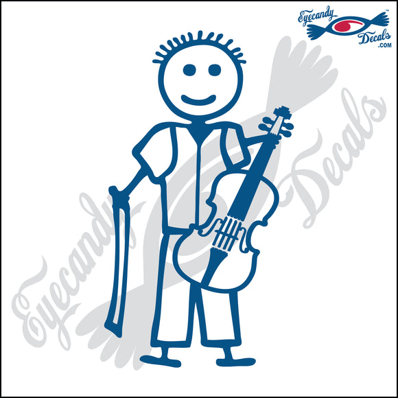 STICK FAMILY BOY PLAYING VIOLIN   4