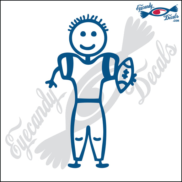STICK FAMILY BOY FOOTBALL PLAYER   4
