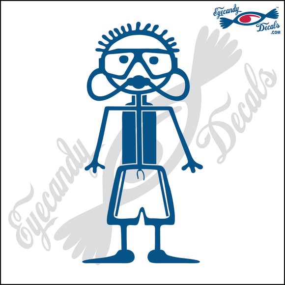 STICK FAMILY BOY SCUBA DIVER   4
