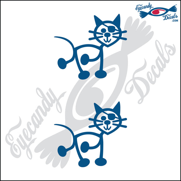 STICK FAMILY CAT PIRATE   2.5
