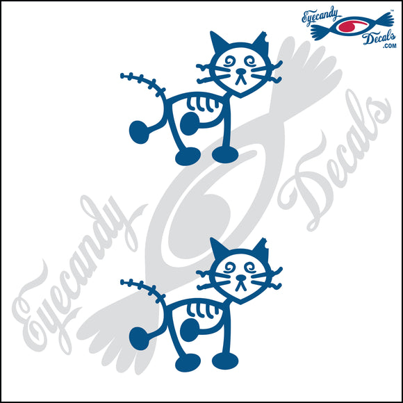STICK FAMILY CAT ZOMBIE   2.5