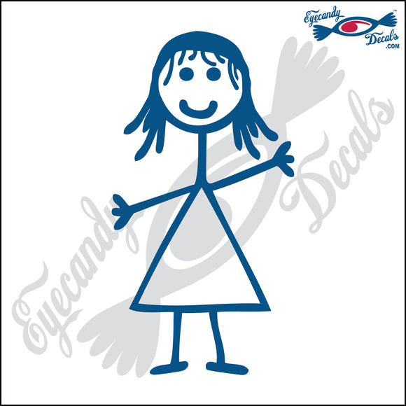 STICK FAMILY GIRL STRAIGHT HAIR   4
