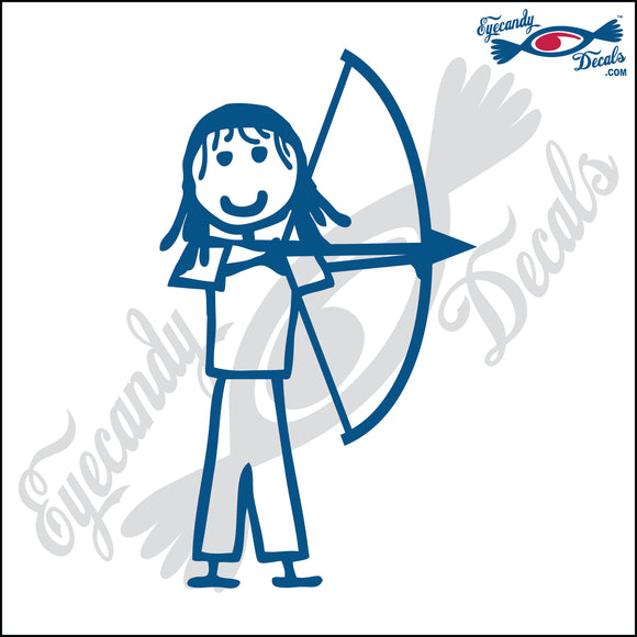 STICK FAMILY GIRL ARCHER   4