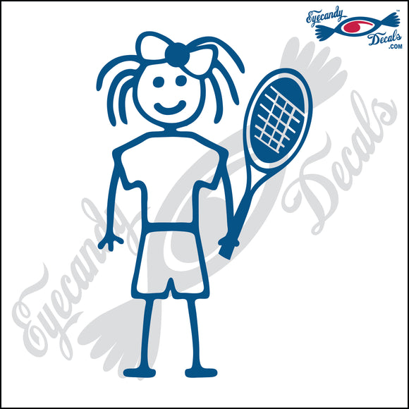 STICK FAMILY GIRL TENNIS PLAYER   4