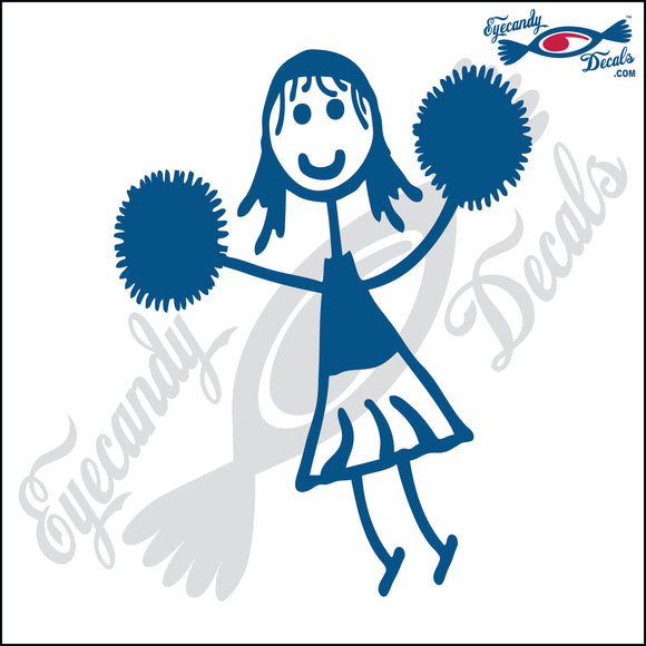 STICK FAMILY GIRL CHEERLEADER   4
