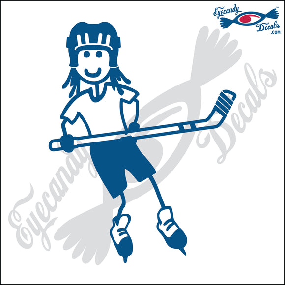STICK FAMILY GIRL PLAYING HOCKEY   4