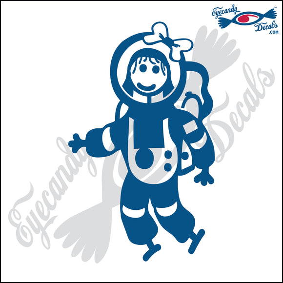 STICK FAMILY GIRL ASTRONAUT   4