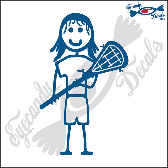 STICK FAMILY GIRL LACROSSE PLAYER   4