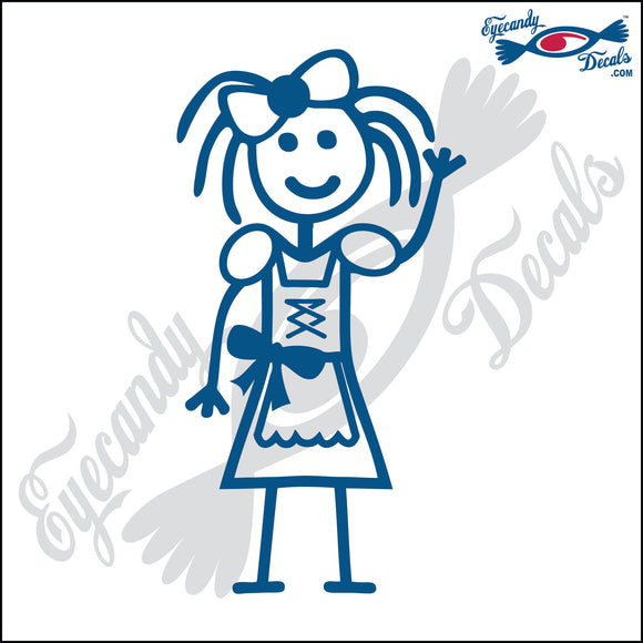 STICK FAMILY GIRL READY FOR OCTOBERFEST   4