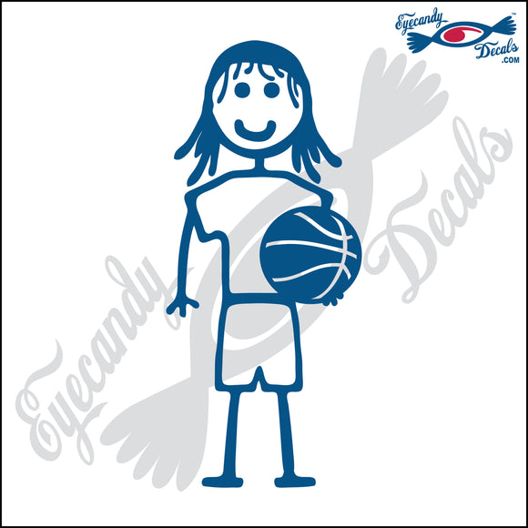 STICK FAMILY GIRL HOLDING BASKETBALL   4