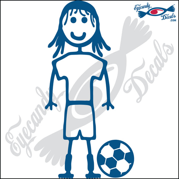 STICK FAMILY GIRL SOCCER PLAYER   4