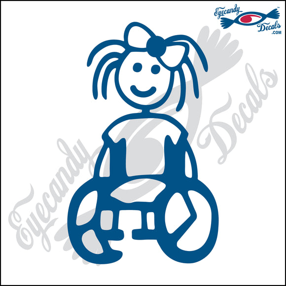 STICK FAMILY GIRL IN WHEELCHAIR   4