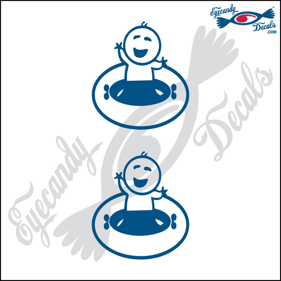 STICK FAMILY BABY BOY GOING TUBING   2.5