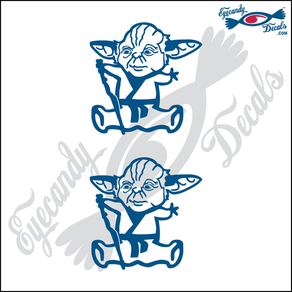 STICK FAMILY BABY AS YODA STAR WARS   2.5