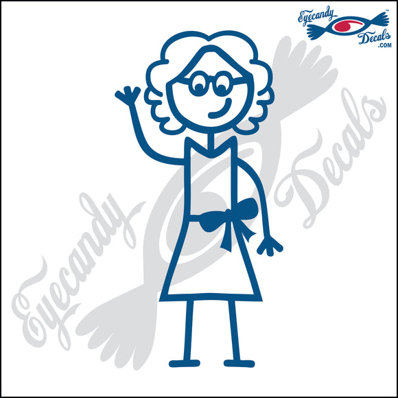 STICK FAMILY LADY GRANDMA   5