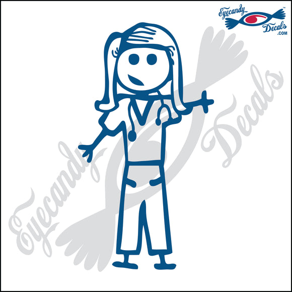 STICK FAMILY LADY DOCTOR   5