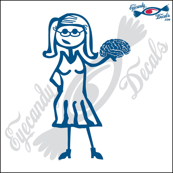 STICK FAMILY LADY PSYCHOLOGIST   5