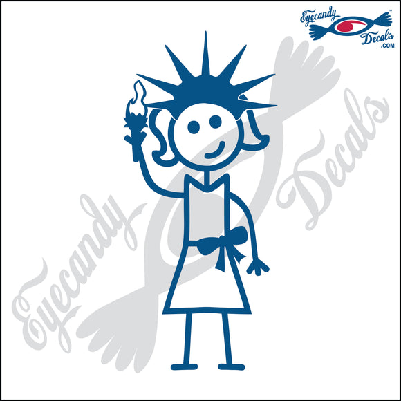 STICK FAMILY LADY IN NEW YORK   5