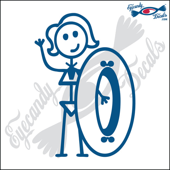 STICK FAMILY LADY GOING TUBING   5