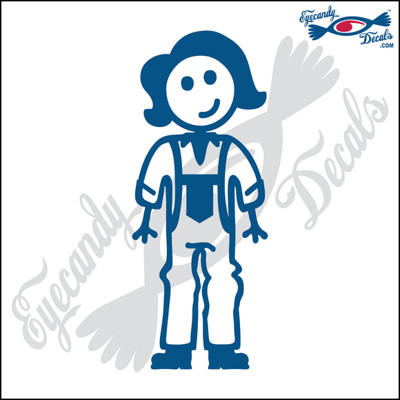 STICK FAMILY LADY FARMER   5