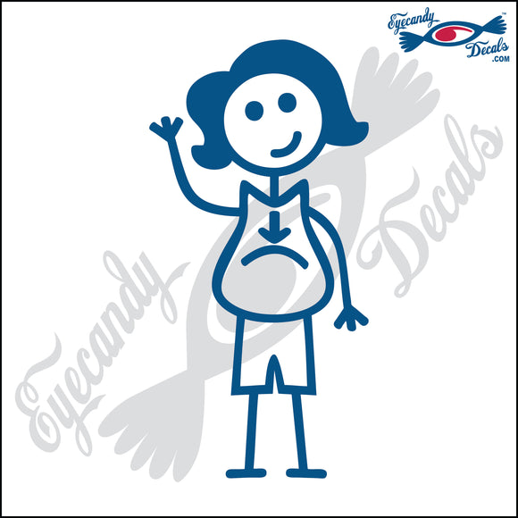 STICK FAMILY LADY PREGNANT   5