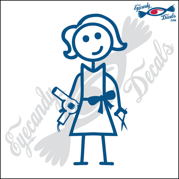 STICK FAMILY LADY HAIR STYLIST   5